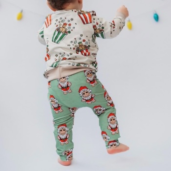 Christmas Troll Leggings (Ready Made)
