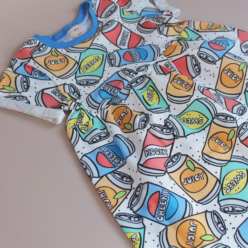 A LITTLE KOOKY Soda Pop Smock Dress