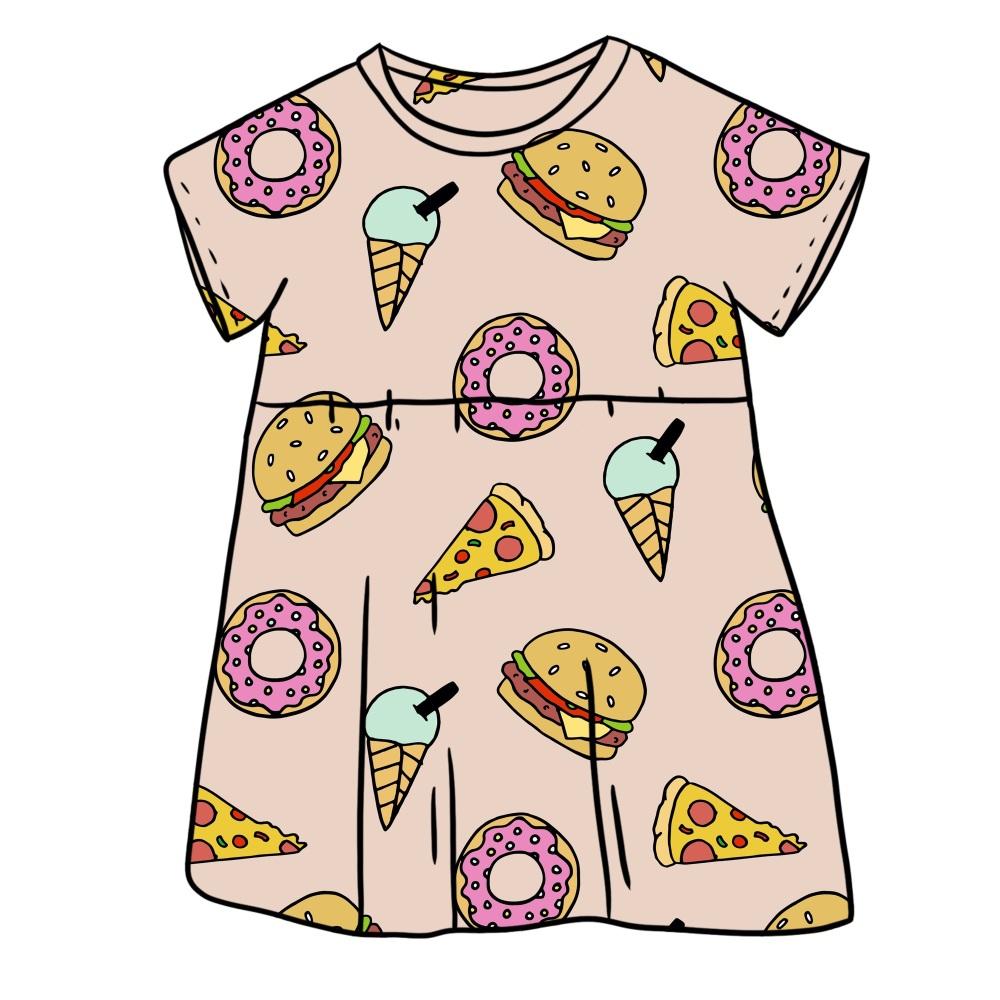 Fast Food Smock Dress