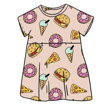 Foodie Smock Dress