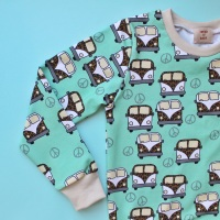 Happy Campers Long sleeved top (Ready Made)