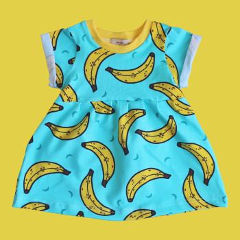 Go Bananas Smock Dress