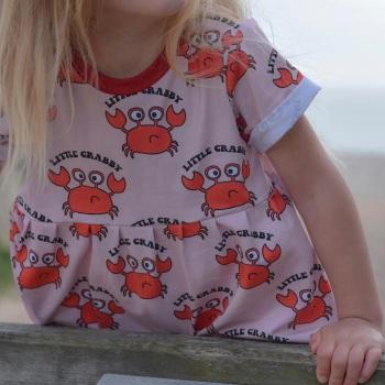 Little Crabby Smock Dress