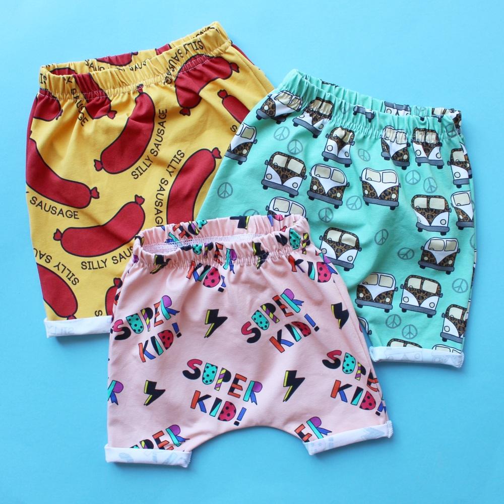 Super Kid Harem Shorts (Ready made)