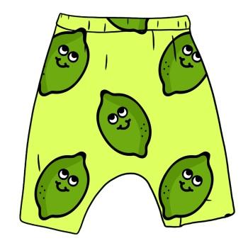 Cheeky Lime Harem shorts (Ready made)