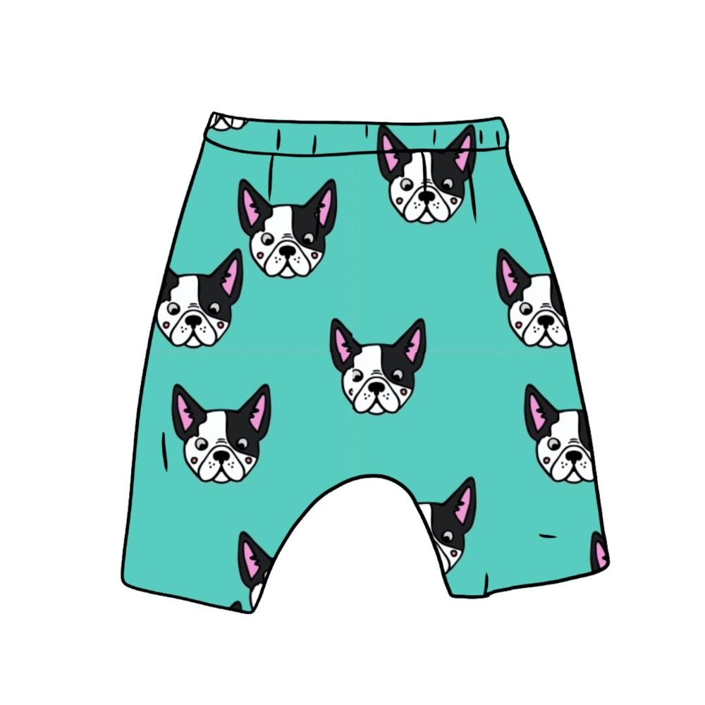 Little Pup Harem shorts (ready made)