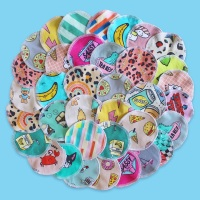 Reuseable cloth pads