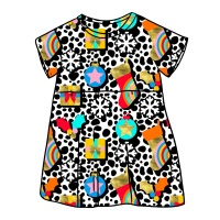 Merry and Bright Smock Dress