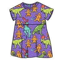 Doyouthinkhesaurus Smock Dress