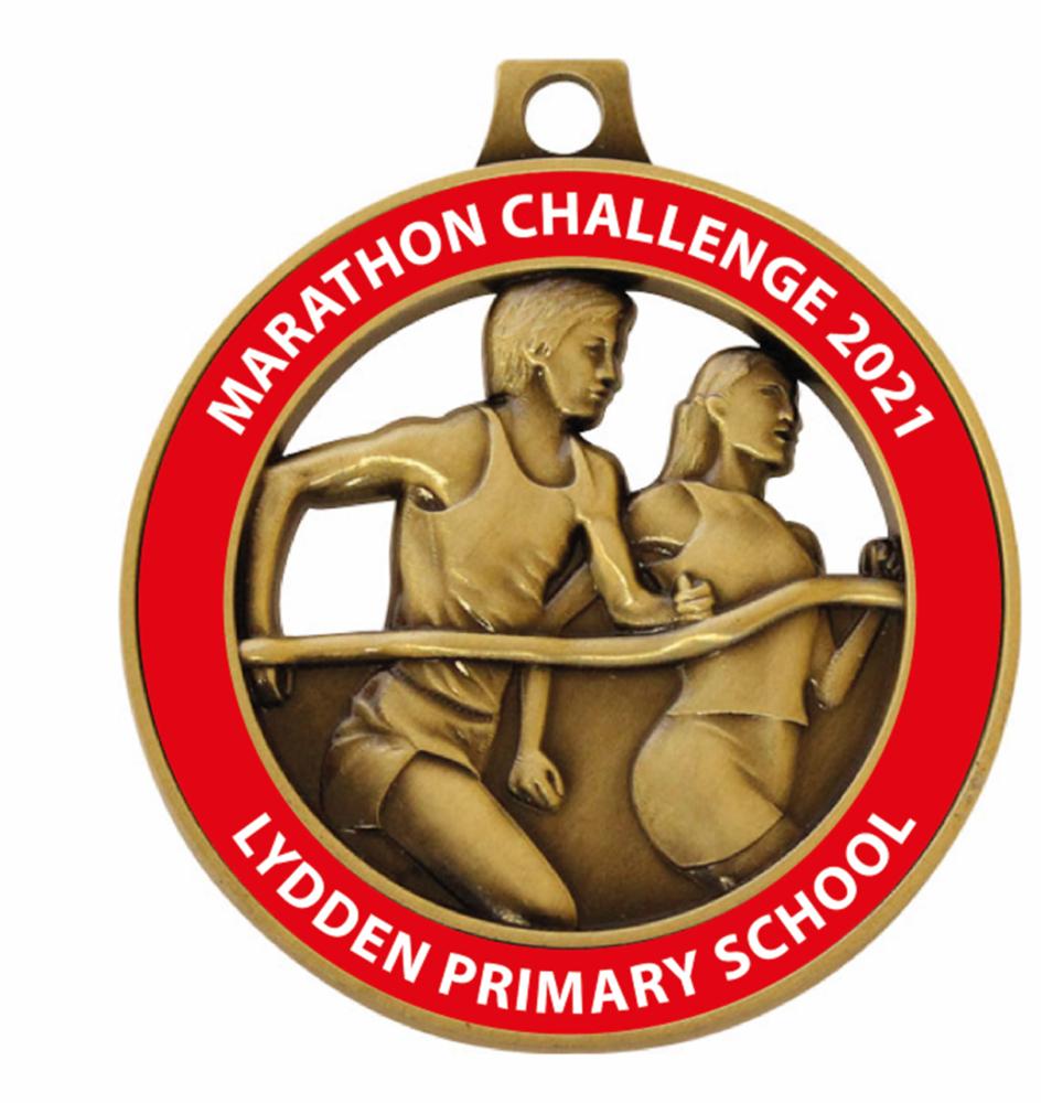 Lydden Primary School - Marathon Challenge