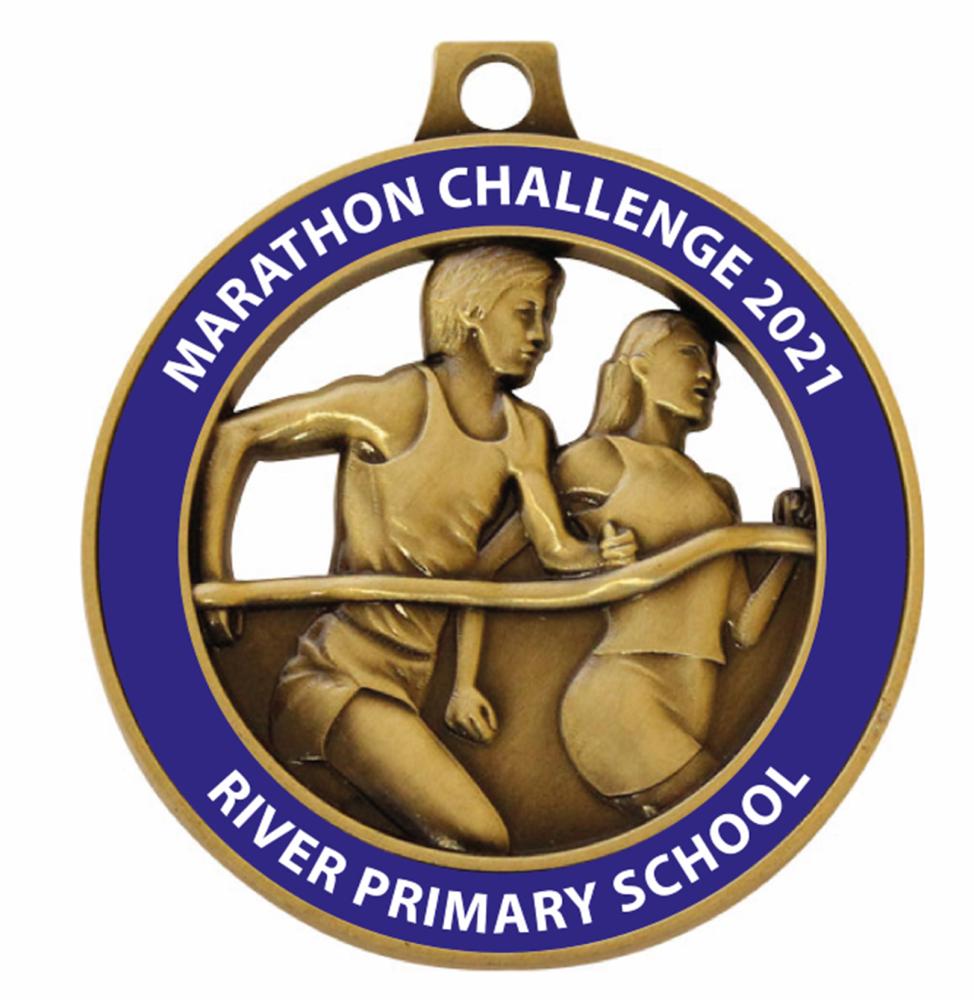 River Primary School - Marathon Challenge