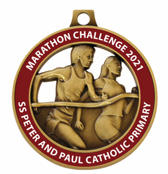 SS Peter & Paul Catholic Primary School  Marathon Challenge