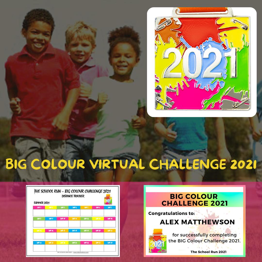 BIG Summer Colour Challenge 2021