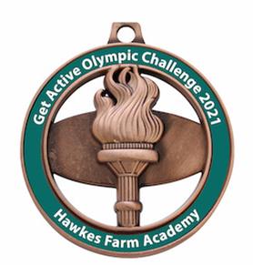 Hawkes Farm Academy Get Active Summer Challenge 2021