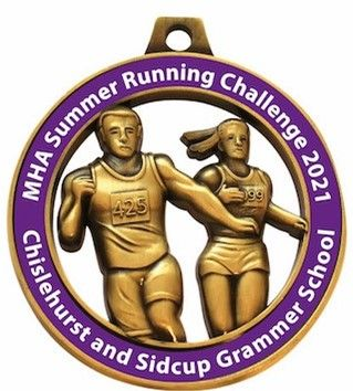 Chislehurst and Sidcup Grammar School - MHA Summer Running Challenge 2021