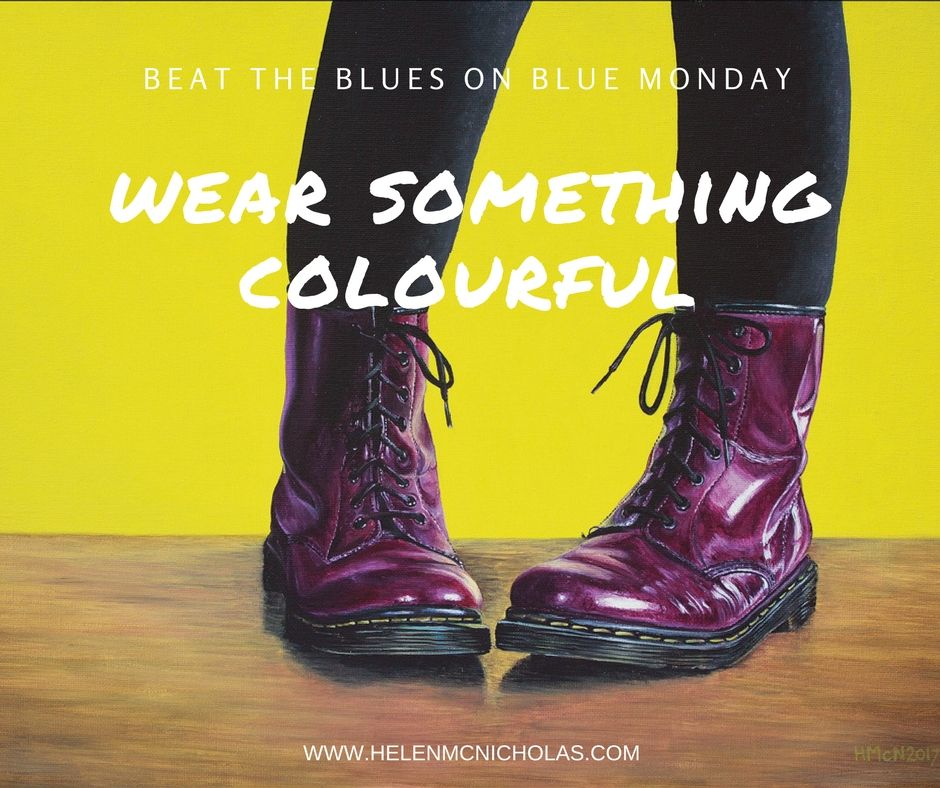 Lets take the blue out of blue monday! (1)