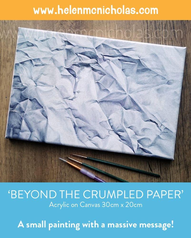 final crumpled paper