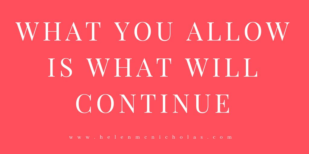 what you allow quote