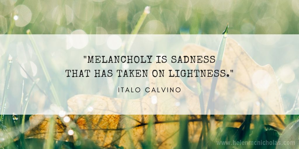 MELANCHOLY QUOTE