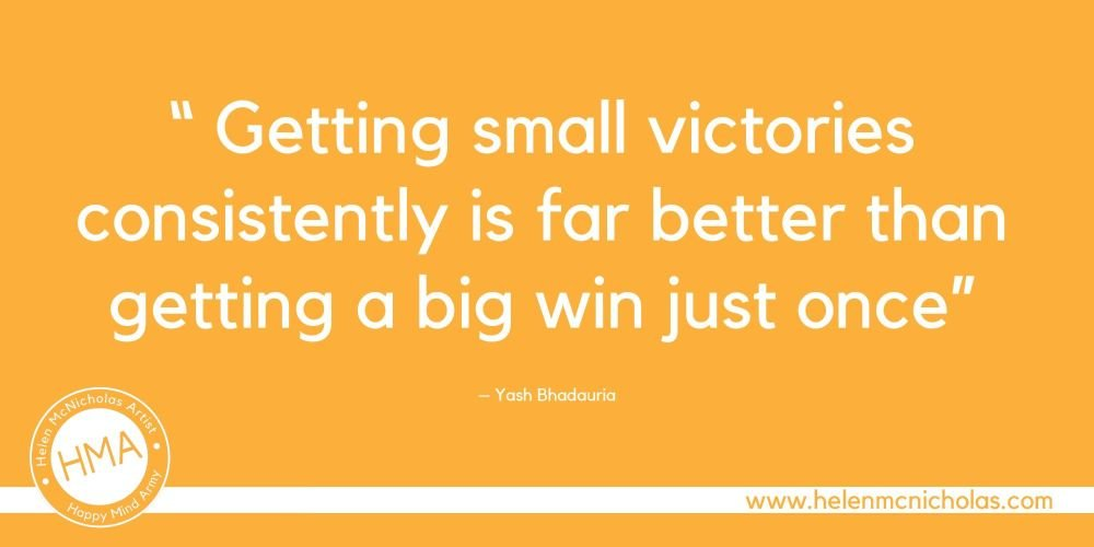 small victories quote