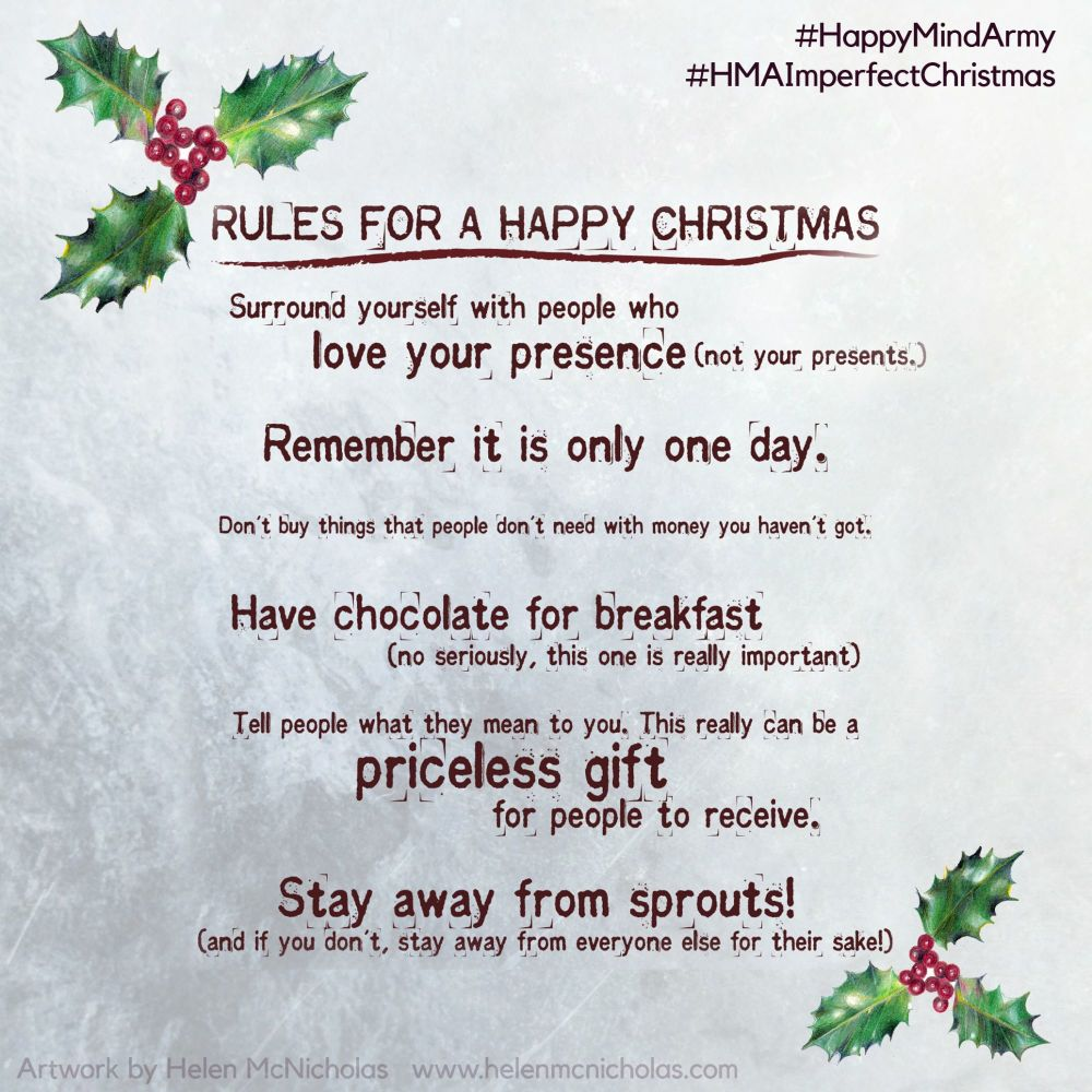 Rules for a Happy Christmas