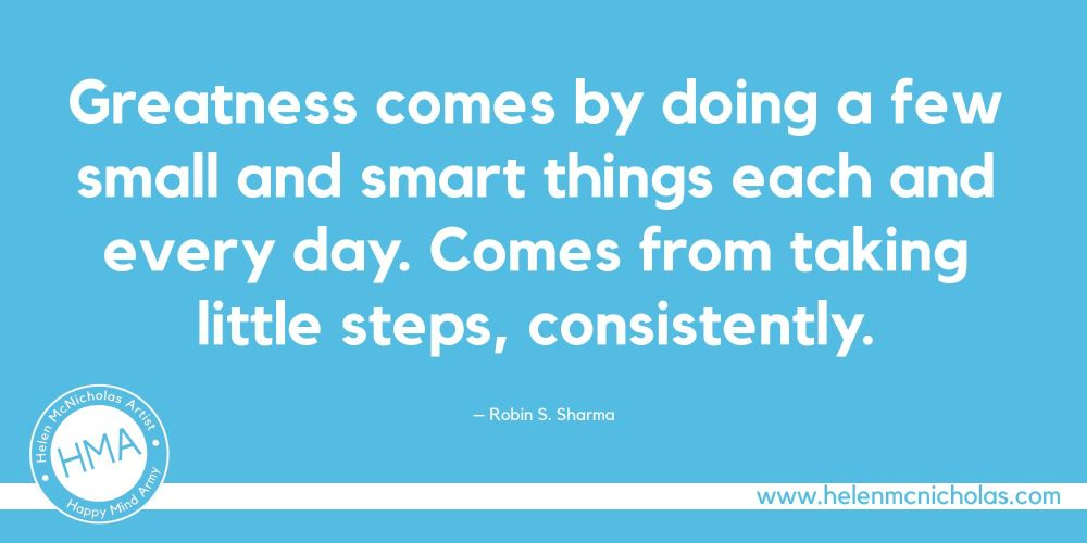 little steps quote
