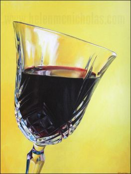 'Red' - Original Painting
