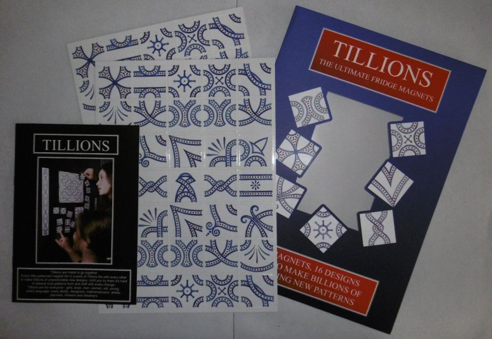 Blue Envelope Tillions Set