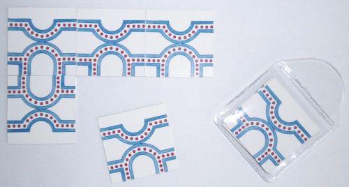 pack of eight matching tillions B8