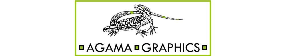 Agama Graphics, site logo.