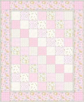 Guess How Much I Love You Quilt Pink