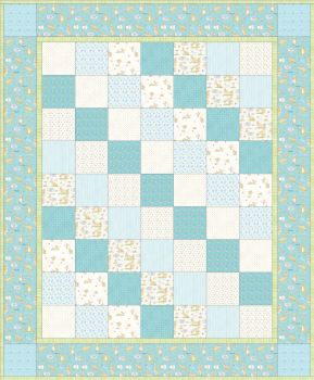 Guess How Much I Love You Quilt Kit Blue