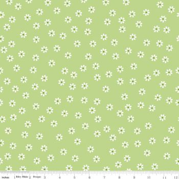 Sew Cherry Daisy green