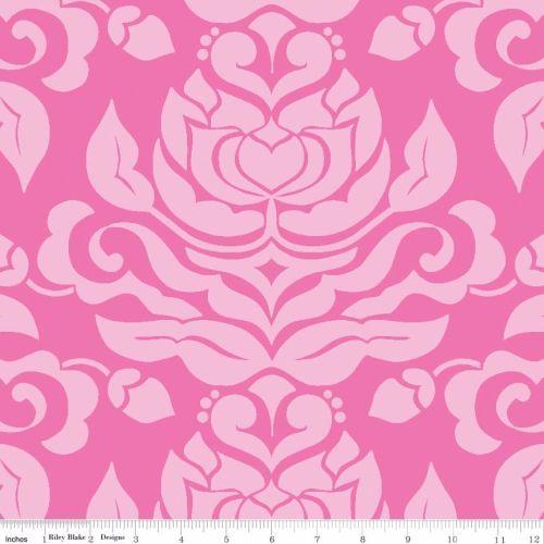 Extravaganza Damask Pink