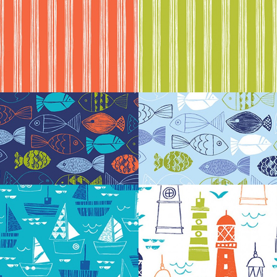 Nautical/ Fish