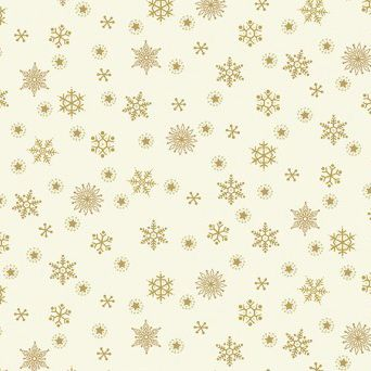 Makower - Snowflake Cream