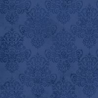 Coastal Dreams: Navy Damask from Studio E