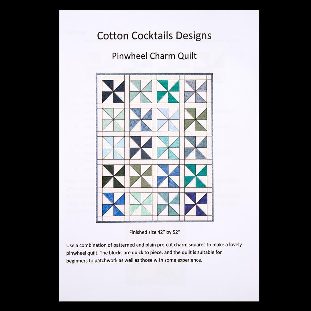 Pattern Pinwheel Quilt