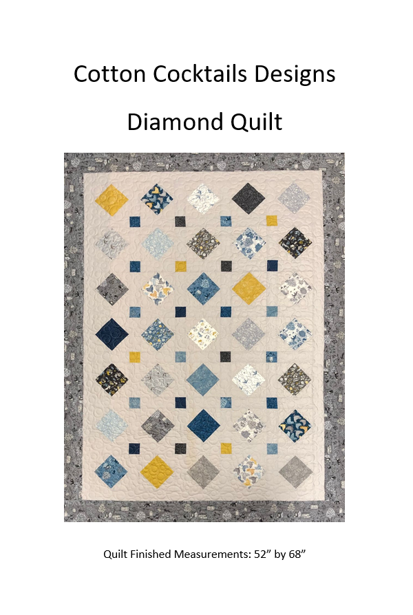 Pattern Diamonds Quilt