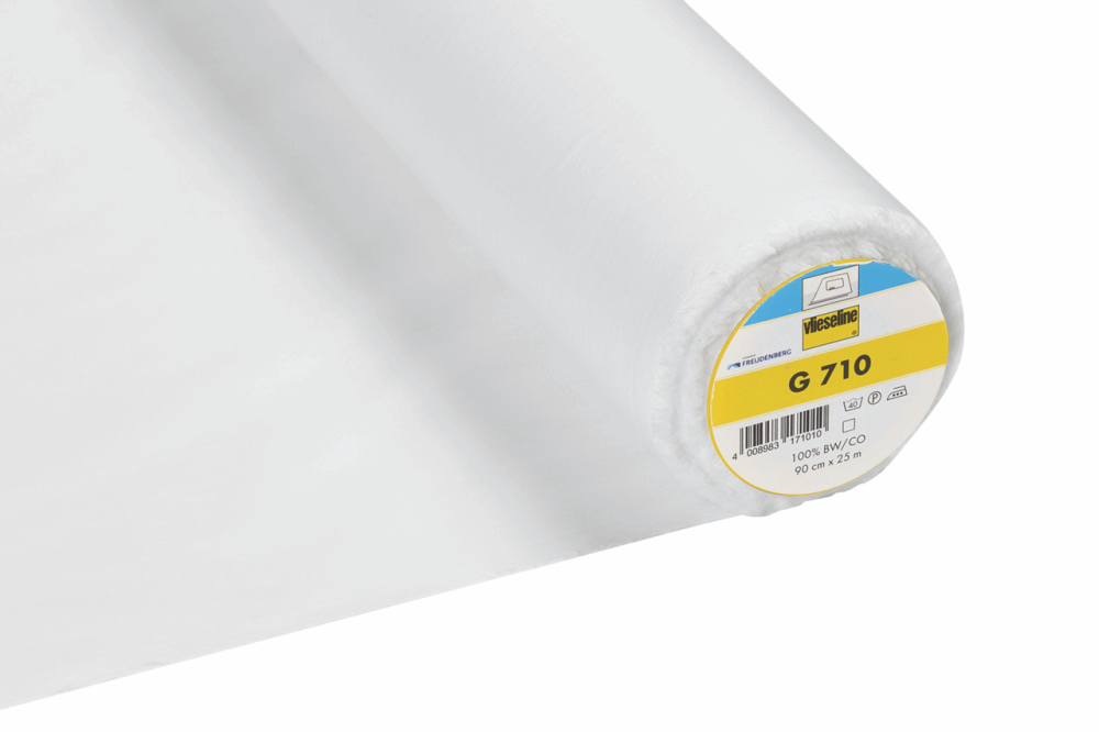 G710 Vlieseline lightweight  cotton woven interfacing, fusible