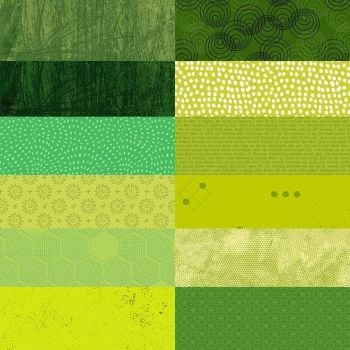 10 Inch Squares Pack Green