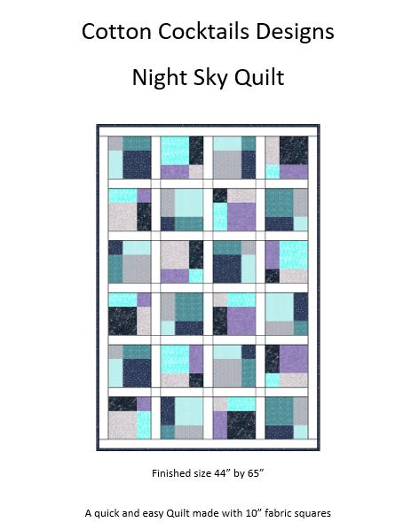 Pattern Night Sky Quilt