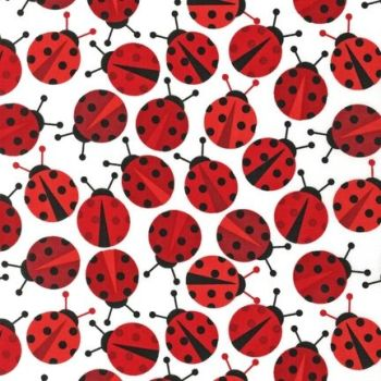 Anne Kelle:Ladybirds Red