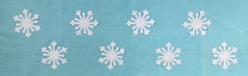 Kit: Snowflakes Table Runner - Reduced