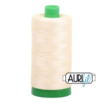 Aurifil 40: 2110 Light Lemon