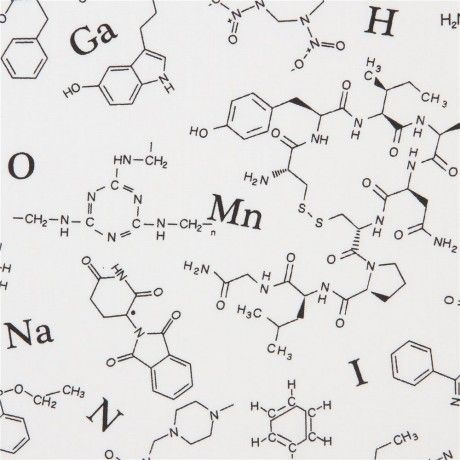 Robert Kaufman Molecule White
