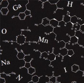 Robert Kaufman Molecule Black