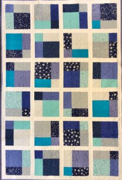 "Night Sky Quilt Kit: 44"" by 55"""