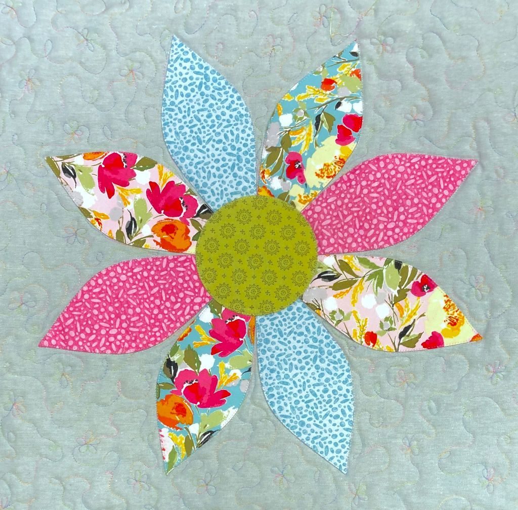 Kit: Spring Flower Cushion