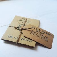 Organic Edible Flowers Seed Collection
